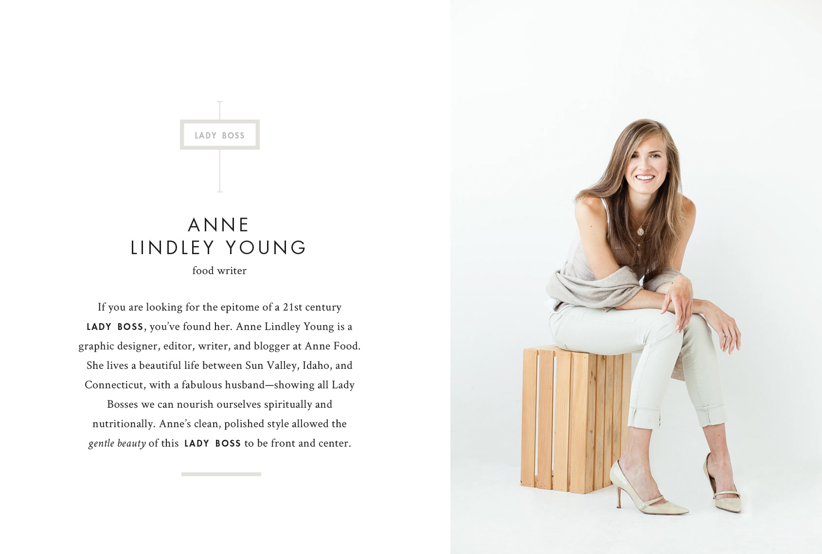 Print by Jennifer Graham Photography - Anne Lindley Young, writer for Anne Food