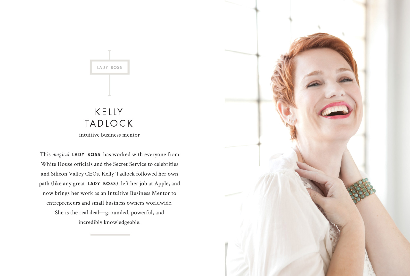 Print - Kelly Tadlock, Intuitive Business Mentor