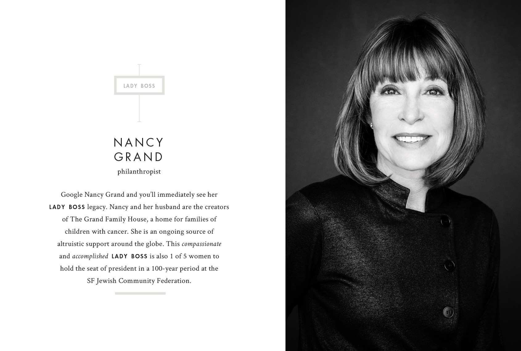 Print by Jennifer Graham Photography - Nancy Grand, Philanthropist